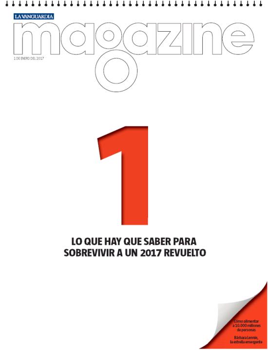 MEGAZINE portada 2 de Enero 2017