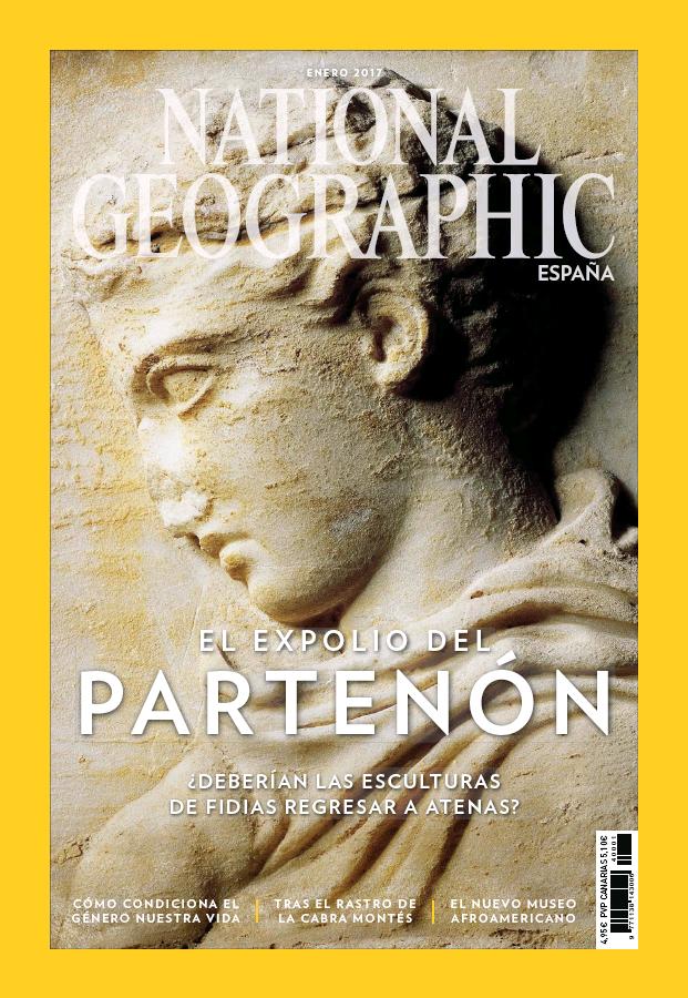 NATIONAL GEOGRAPHIC portada Enero 2017