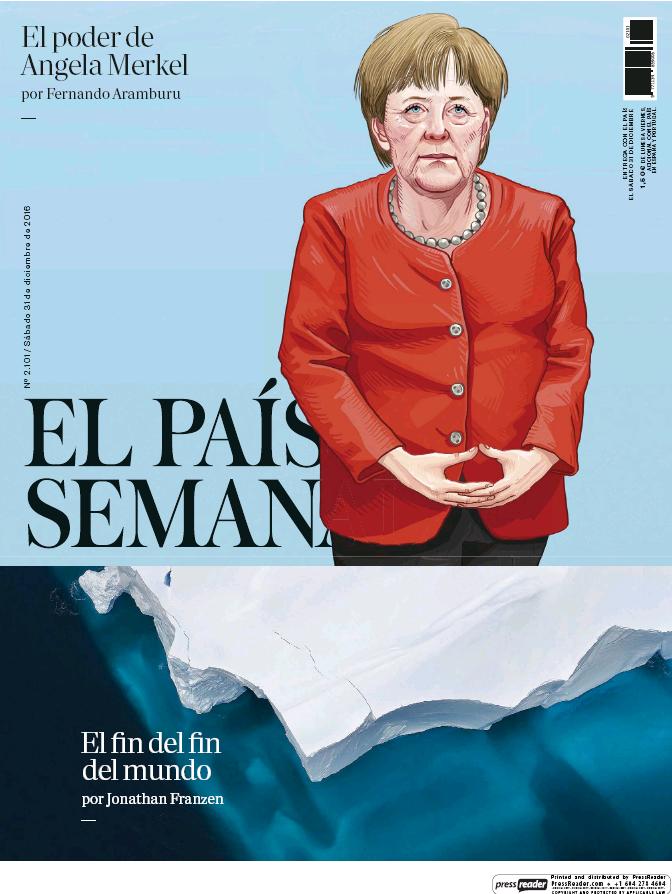 PAIS SEMANAL portada 2 de Enero 2017