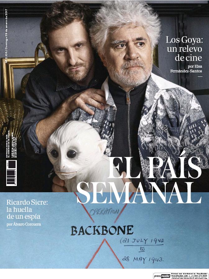 PAIS SEMANAL portada 29 de Enero 2017