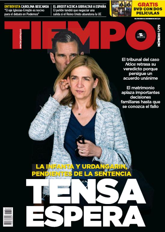TIEMPO portada 29 de Enero 2017