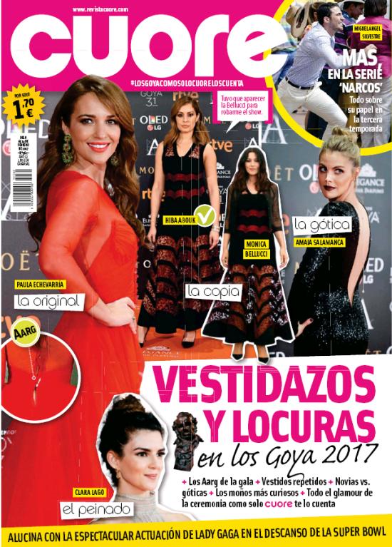 CUORE portada 8 de Febrero 2017