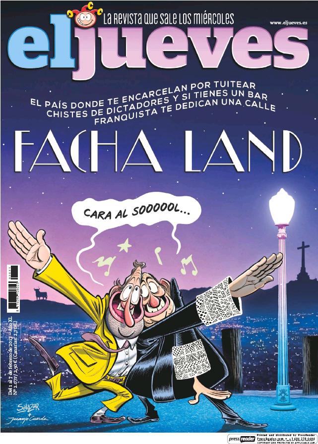 JUEVES portada 1 de Febrero 2017