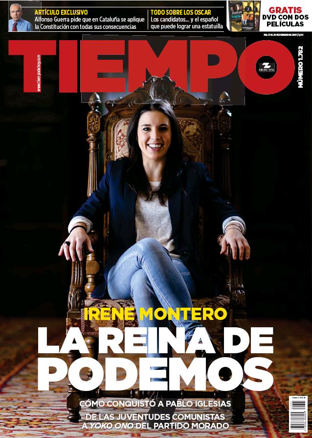 TIEMPO portada 19 de Febrero 2017
