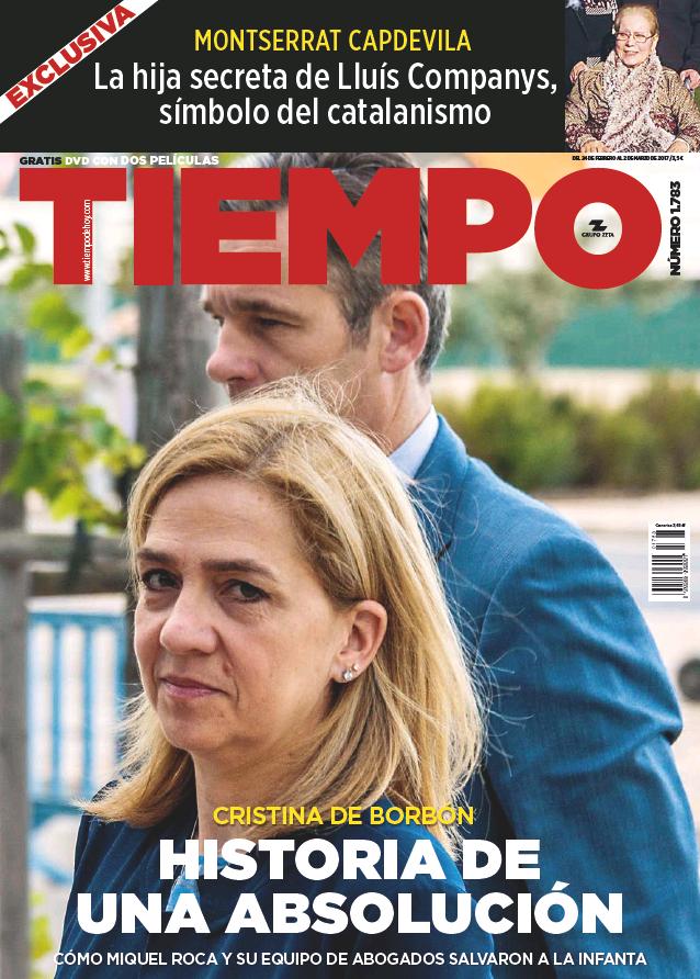 TIEMPO portada 26 de Febrero 2017