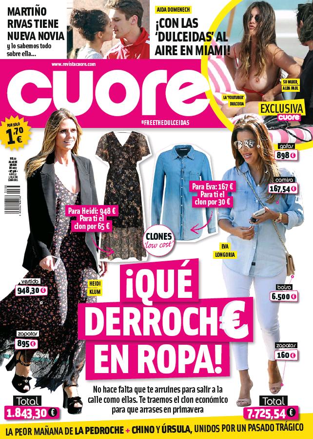 CUORE portada 22 de Marzo 2017