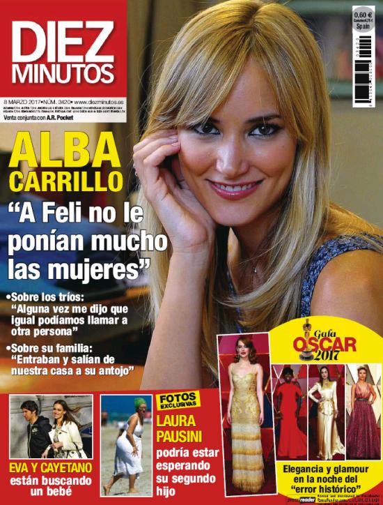 DIEZ MINUTOS portada 1 de Marzo 2017
