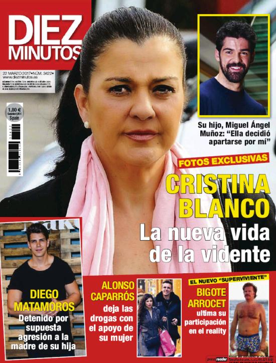 DIEZ MINUTOS portada 15 de Marzo 2017