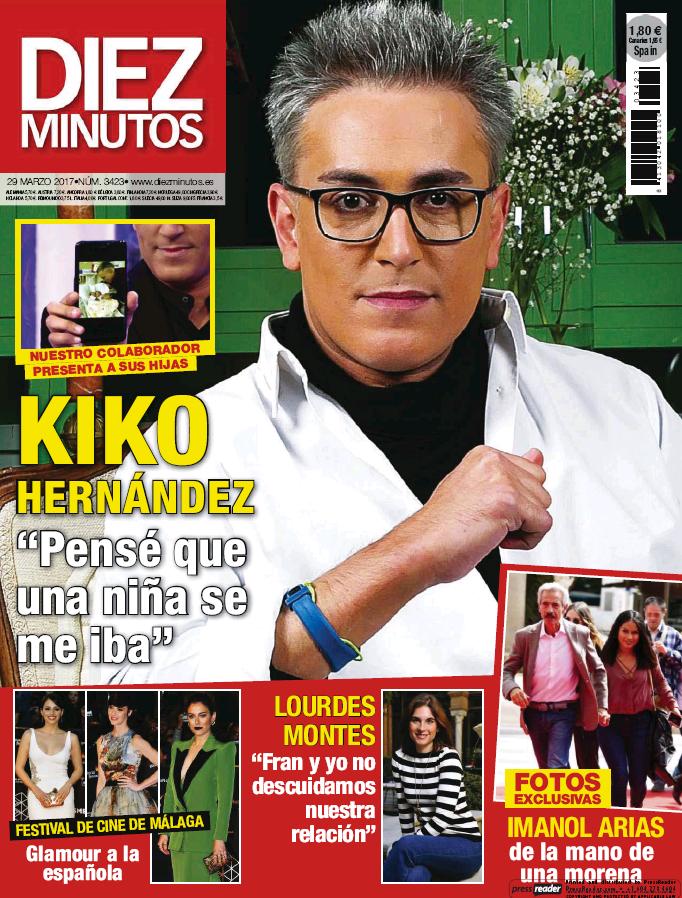 DIEZ MINUTOS portada 22 de Marzo 2017