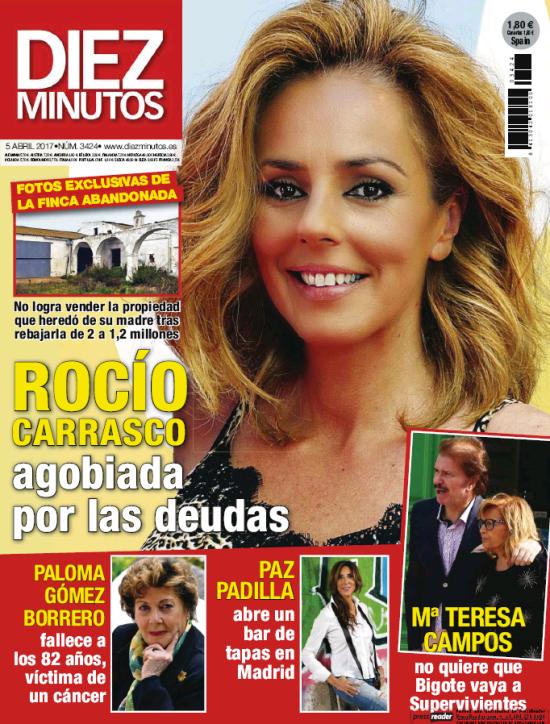 DIEZ MINUTOS portada 29 de Marzo 2017