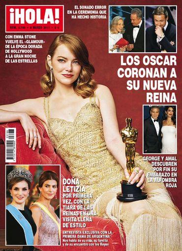 HOLA portada 1 de Marzo 2017