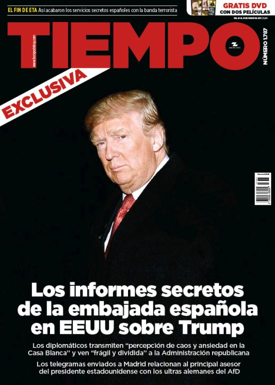 Tiempo portada 26 de Marzo 2017