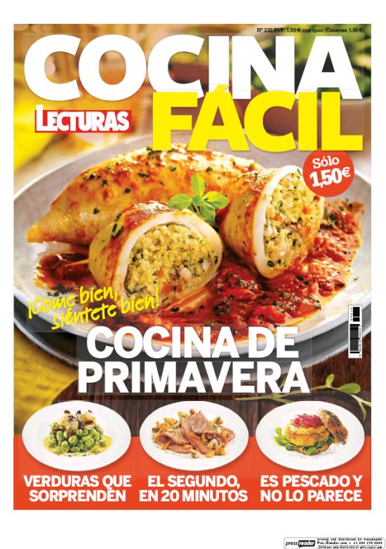 COCINA FACIL portada Abril 2017