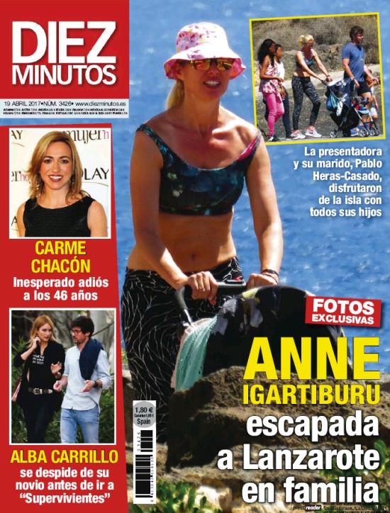 DIEZ MINUTOS portada 12 de Abril 2017