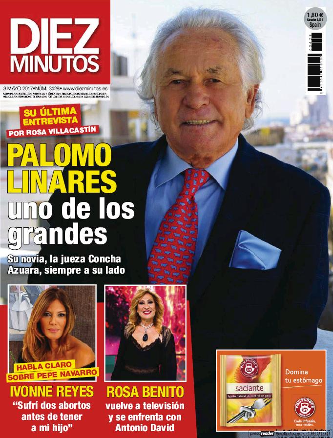 DIEZ MINUTOS portada 26 de Abril 2017