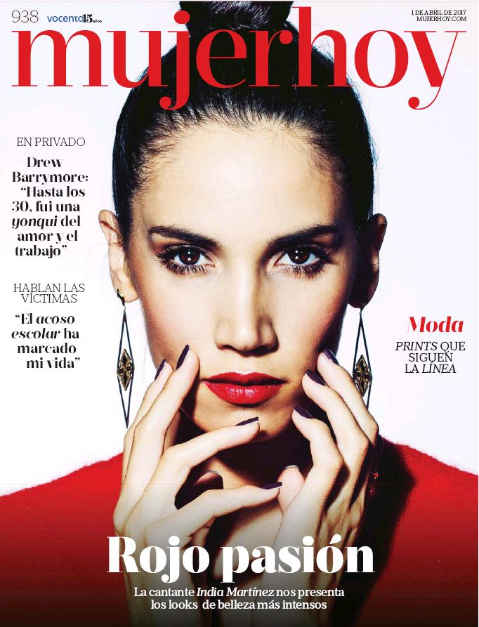 MUJER HOY portada 2 de Abril 2017
