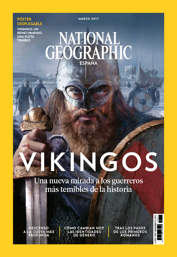 NATIONAL GEOGRAPHIC portada Marzo 2017