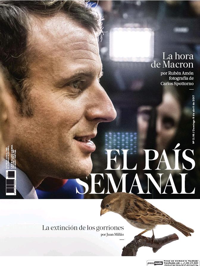 PAIS SEMANAL portada 9 de Abril 2017