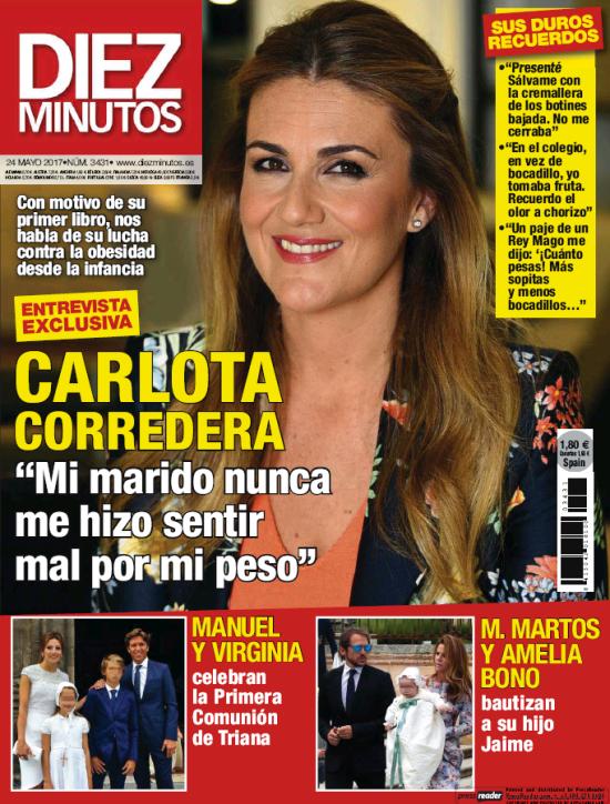DIEZ MINUTOS portada 17 de Mayo 2017