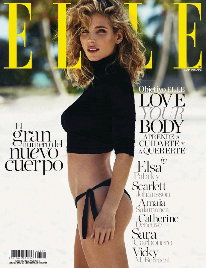 ELLE portada Abril 2017