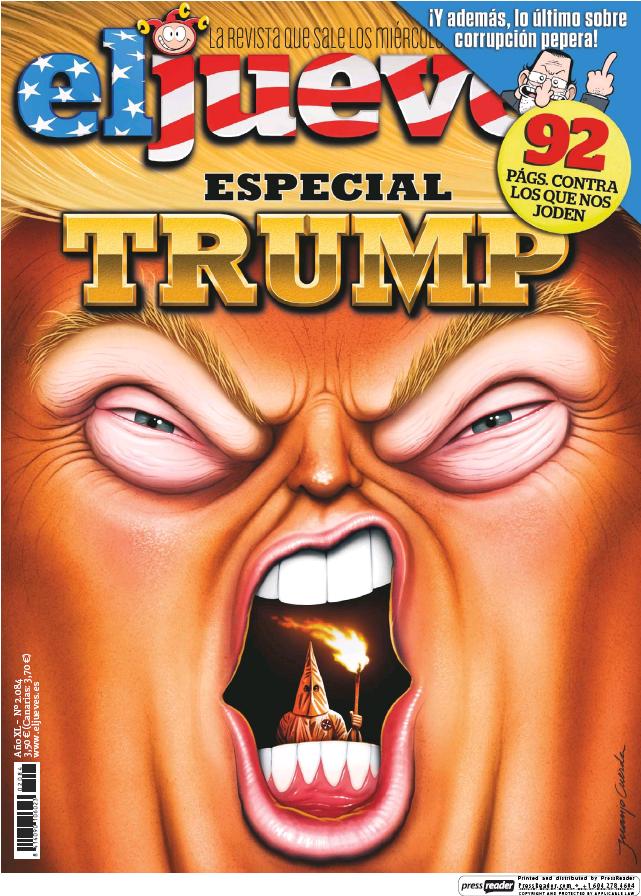 JUEVES portada 3 de Mayo 2017