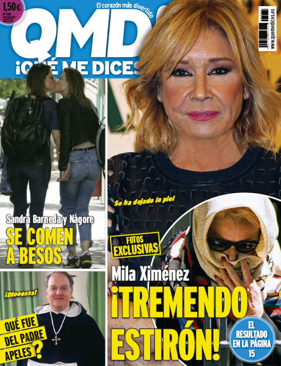 QUE ME DICES portada 15 de Mayo 2017