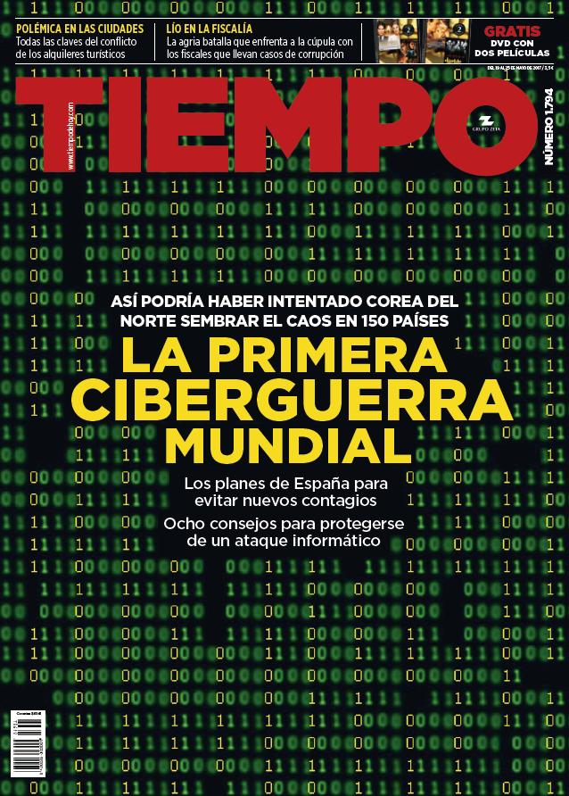 TIEMPO portada 21 de Mayo 2017