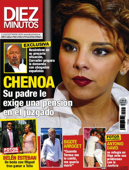 DIEZ MINUTOS portada 28 de Junio 2017