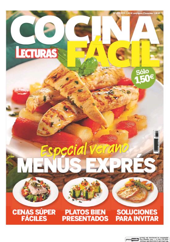 COCINA FACIL portada Julio 2017