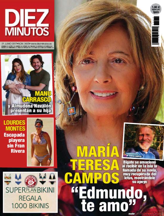DIEZ MINUTOS portada 14 de Junio 2017