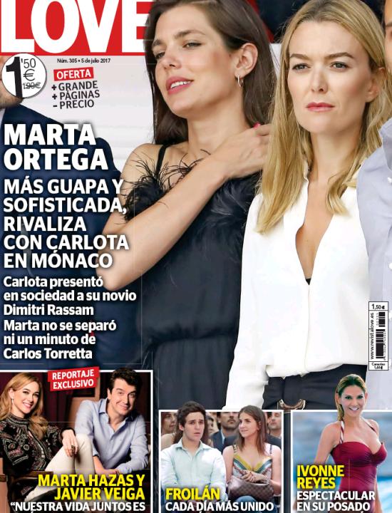 LOVE portada 28 de Junio de 2017