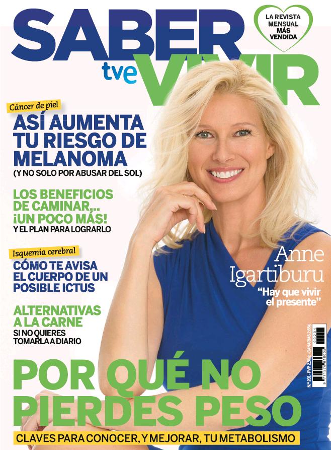 SABER VIVIR portada Julio 2017