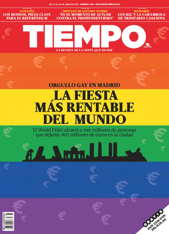 TIEMPO portada 16 de Junio 2017
