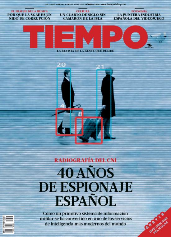 TIEMPO portada 1 de Julio 2017