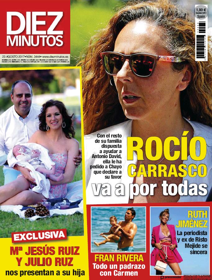 DIEZ MINUTOS portada 16 de Agosto 2017