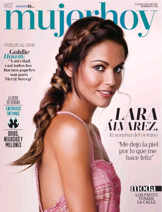 MUJER HOY portada 13 de Agosto 2017