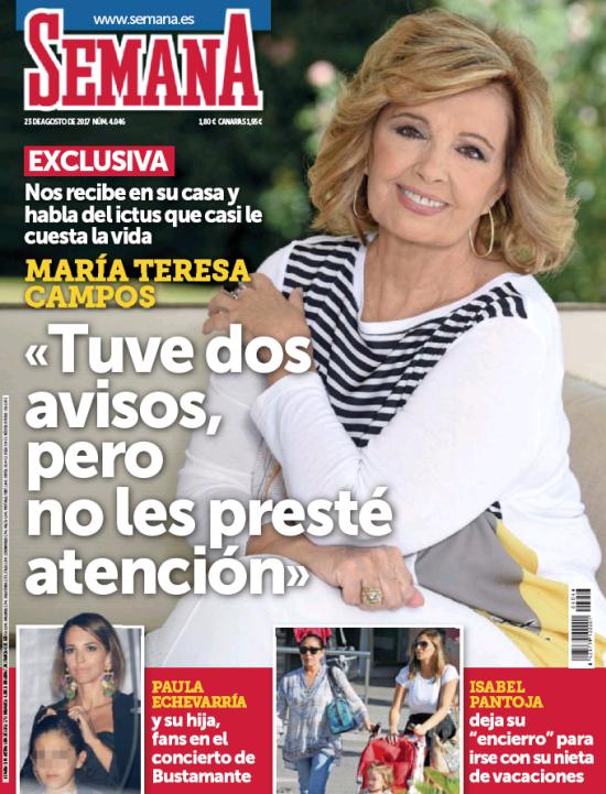 SEMANA portada 16 de Agosto 2017