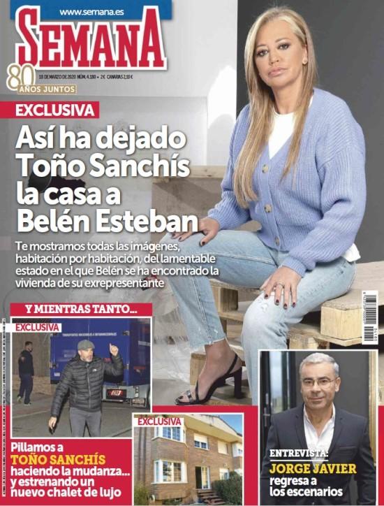 SEMANA portada 11 de marzo de 2020